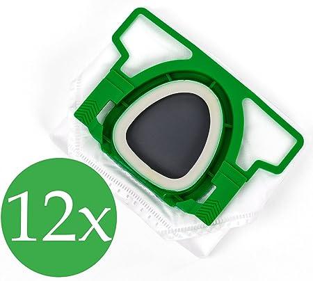 Doble pack 2 x 6 Bolsas de aspiradora Premium para Vorwerk Kobold VK 200: Amazon.es: Hogar