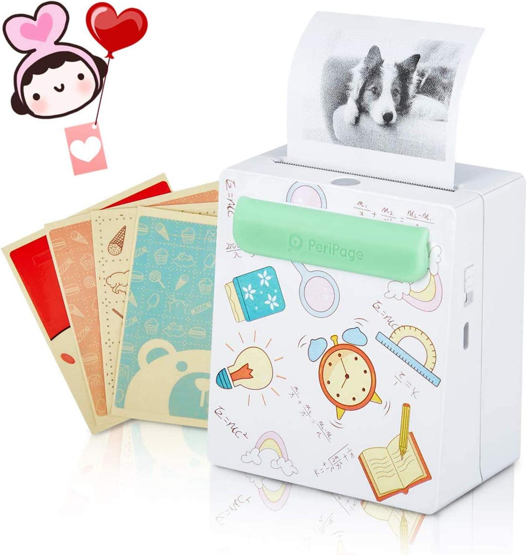 Geschenk Mini Fotodrucker Thermodrucker Fotodrucker Computer Zubehör