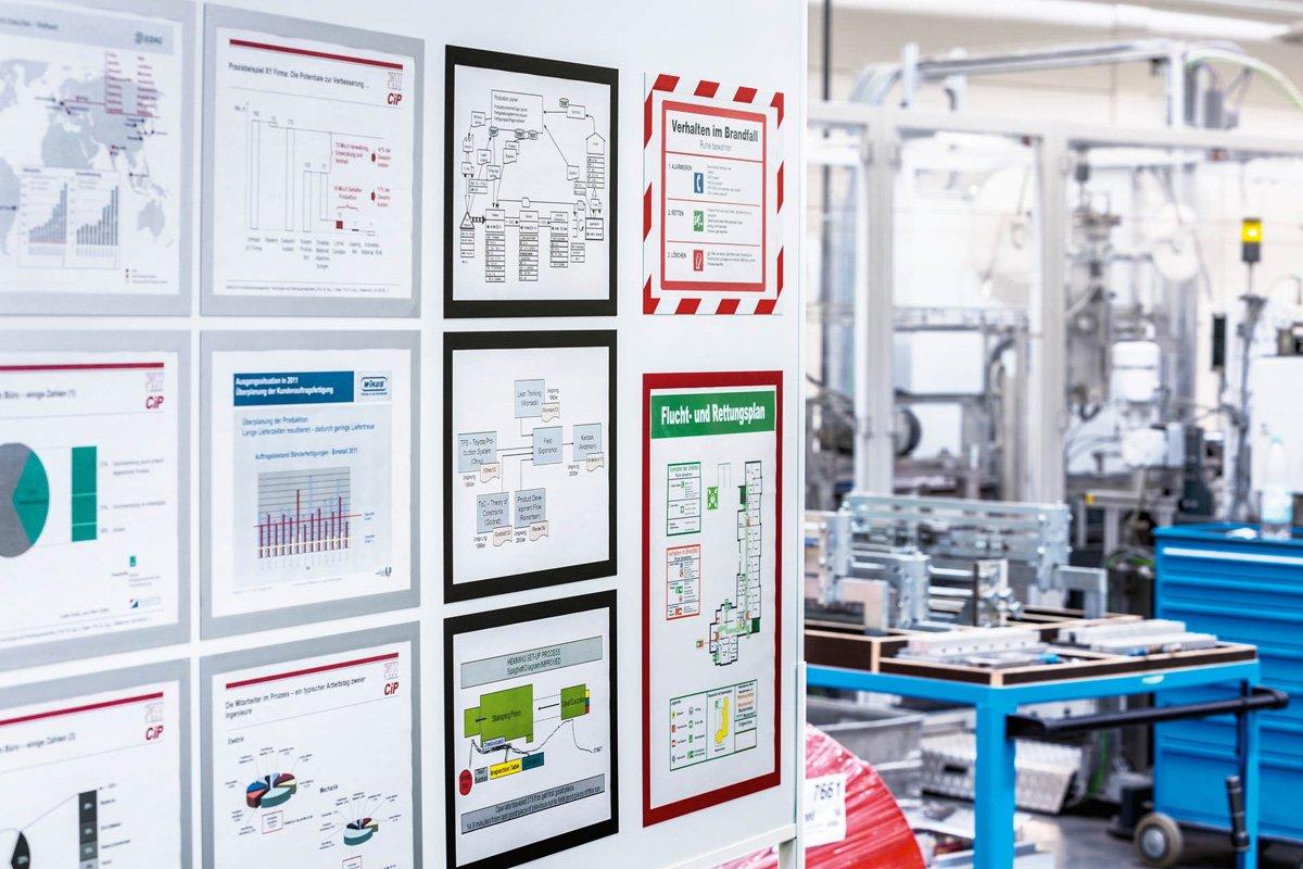 Durable 486901 Info-Rahmen Duraframe Magnetic 5 St/ück schwarz A4 Magnetrahmen f/ür metallische Oberfl/ächen