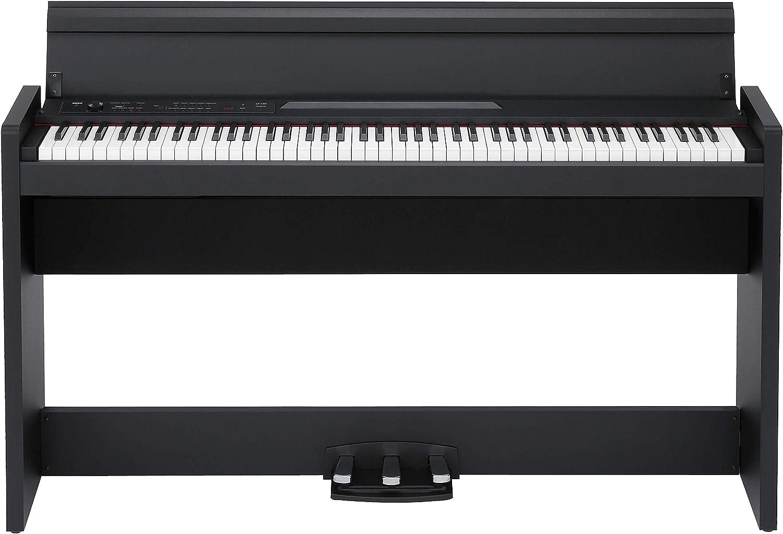 KORG 電子ピアノ LP-380-BK