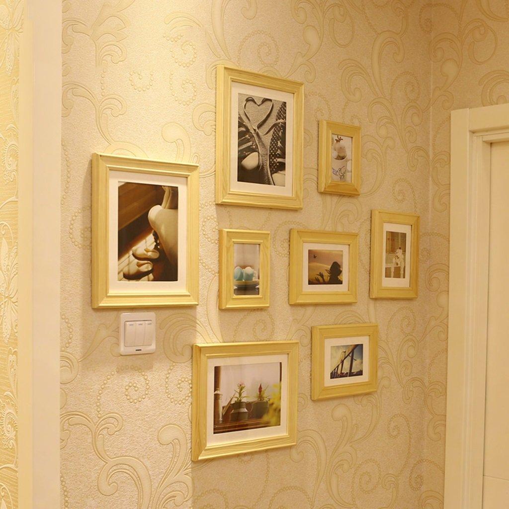 Foto Wandrahmen Massivholzrahmen Wand, mediterrane Fotowand, Multi ...