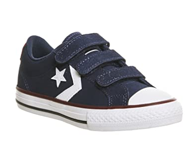 7c1f690a88b42a Converse Star Player Ev Youth Navy - 1 Youth UK  Amazon.co.uk  Shoes ...