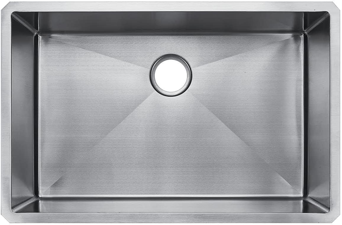 Starstar 32 X 19 Undermount 304 Stainless SteelKitchen Sink Single Bowl