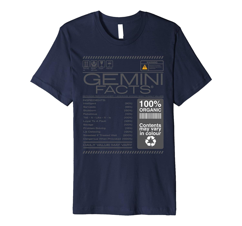 warning Gemini horoscope Facts Astrological Zodiac-CD