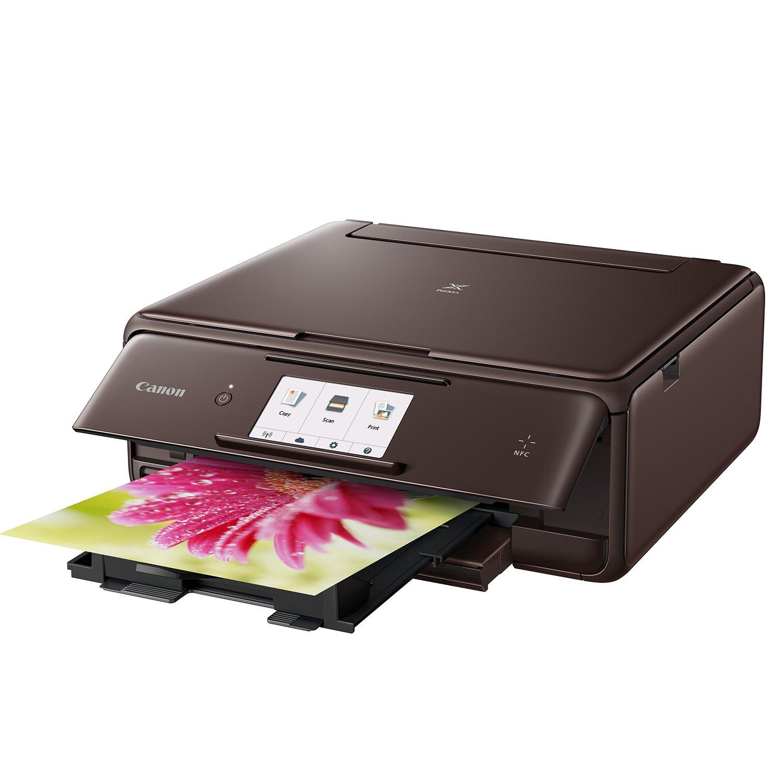 Canon PIXMA TS8053 Inyección de Tinta 9600 x 2400 dpi A4 WiFi - Impresora multifunción (Inyección de Tinta, Impresión a Color, 9600 x 2400 dpi, A4, ...