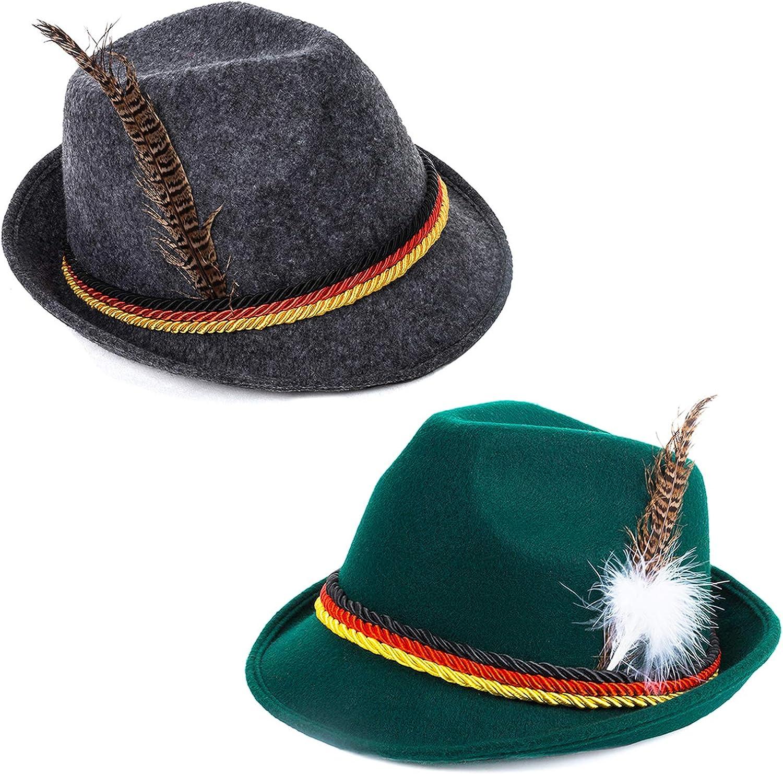 Amazon.com: tigerdoe Oktoberfest sombreros – alemán Alpine ...