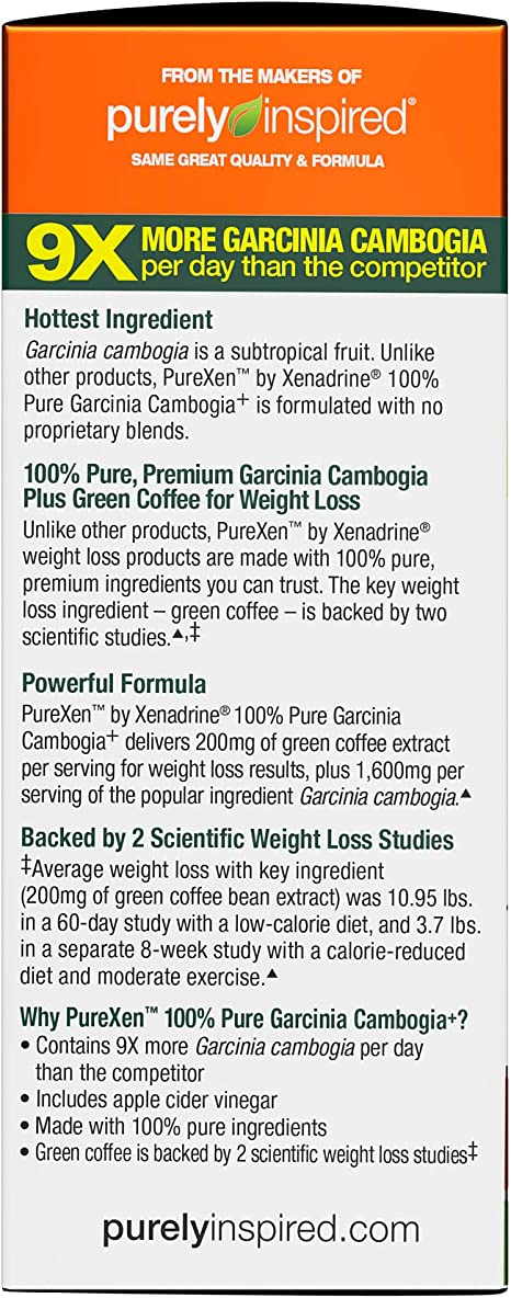 Amazon Com Purely Inspired 100 Pure Garcinia Cambogia Extract