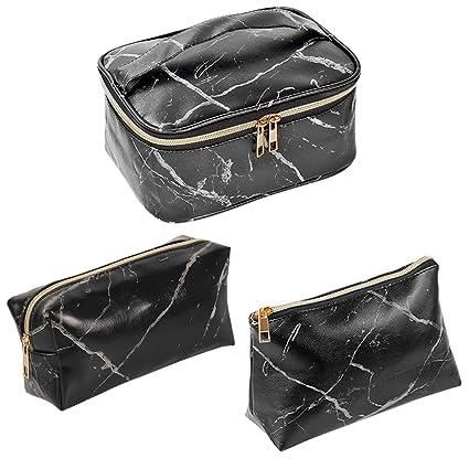 Amazon.com: SUBANG - 3 bolsas de maquillaje, bolsa de aseo ...