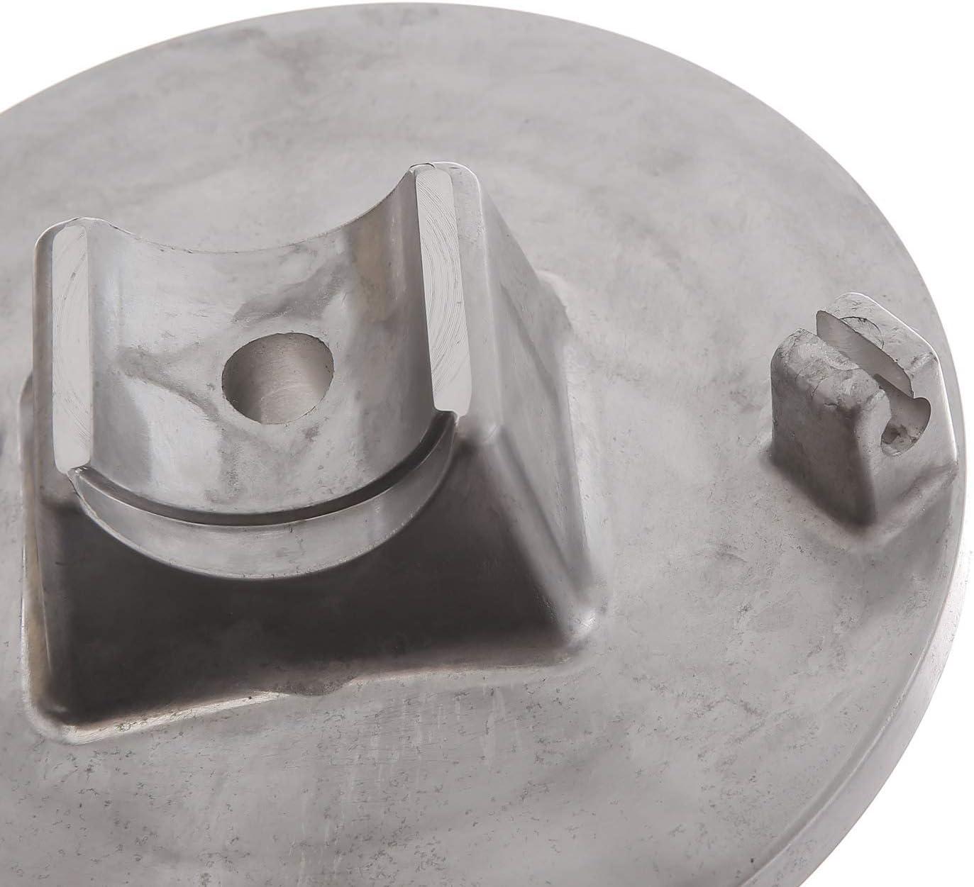 SR50 f/ür S50 MZA Bremsschild vorn S51 SR80 natur