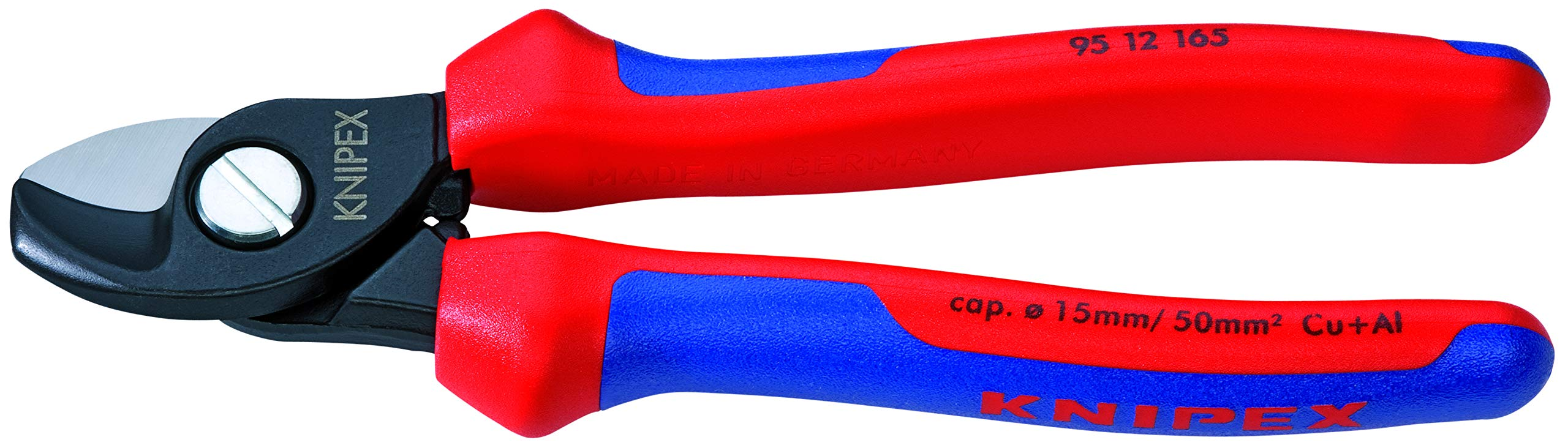 KNIPEX 95 12 165 Comfort Grip Cable Shears by KNIPEX Tools