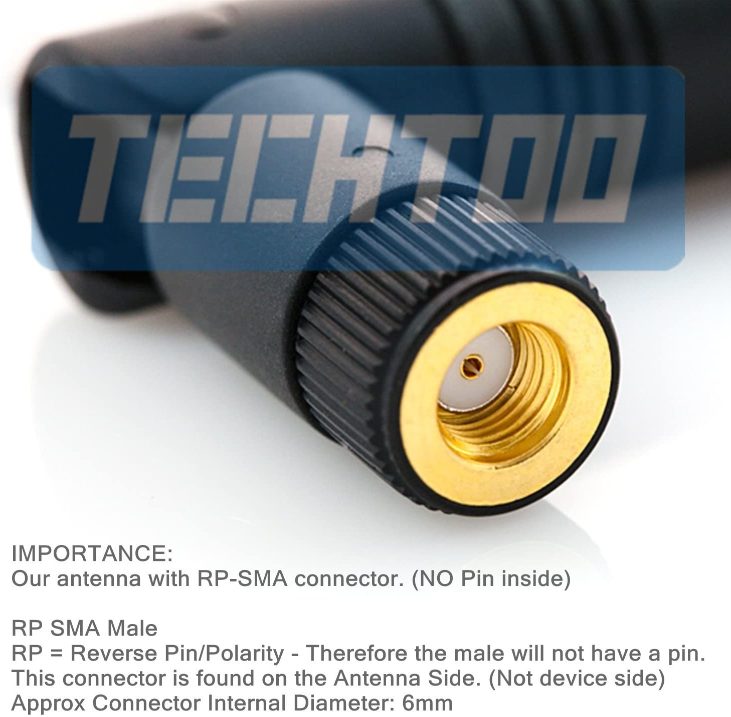 Antenna 2.4G 2.4GHZ 5dBi SMA male plug pin Omni WiFi Wireless Booster Paddle