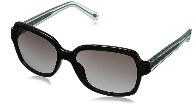428d55e1f9 Fossil Women s FOS3027S Rectangular Sunglasses