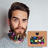 Beards n Bobs Beard Christmas Baubles (12 Pack)