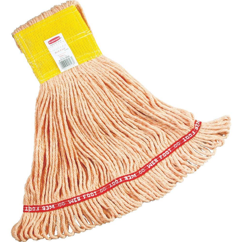Rubbermaid Commercial Web Foot Wet Mop, Large, White, FGA15306WH00 by Rubbermaid Commercial Products