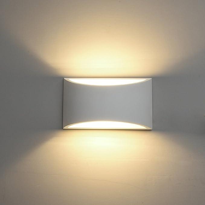 5 opinioni per Applique da parete a LED Intonaco Applique Applique su giù Illuminazione