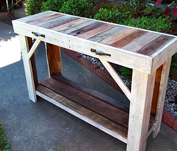 Reclaimed Wood Sofa Table | Entry Table | Side Table - Amazon.com: Reclaimed Wood Sofa Table Entry Table Side Table