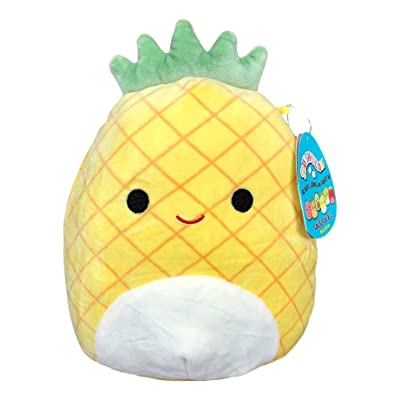 Squishmallow 8 Inch Maui The Pineapple Plush Toy, Super Pillow Soft Plush Stuffed Animal, Yellow: Kitchen & Dining