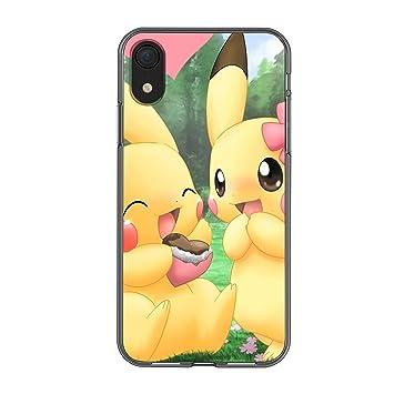 Pokemon – Pikachu Silikon Gel Gummi Stoßfest XS Hülle Handyhülle für iPhone 6/6S iPhone 7/8 iPhone X/XS iPhone XR Cool Anime