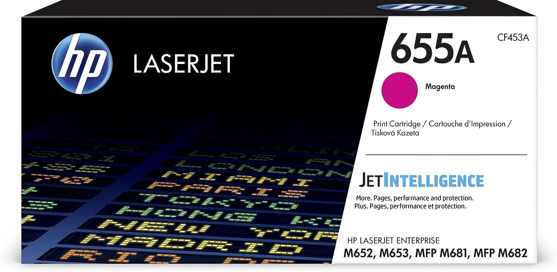 HP 655A | CF453A | Toner Cartridge | Magenta