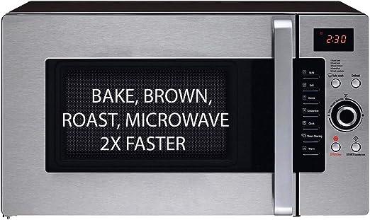 Amazon.com: Horno 3 en 1: horno de microondas de medio ...