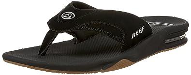b50bb9ba35c Amazon.com  Reef Men s Leather Fanning Sandal  Shoes