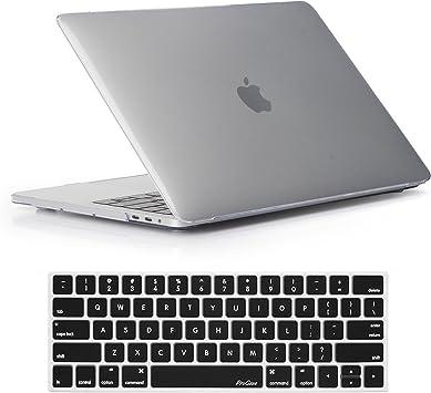 Hard Case NEWEST Release 2018 /& 2017 /& 2016 A1990 /& A1707 MacBook Pro 15 Case