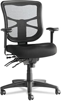 Alera Elusion Series Mesh Mid-Back Multifunction Chair - The Best Multifunctional Office Chair For Short People