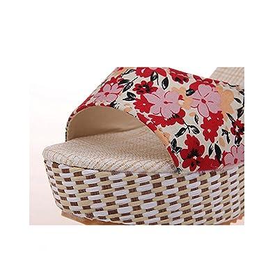 Women Sandals Summer Open Toe Fish Head Fashion Platform High Heels Wedge  Sandals Female Shoes ac323f555f0e