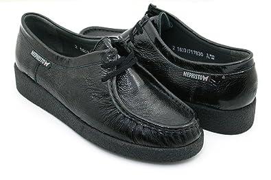 best sneakers 7e42e 36398 MEPHISTO CHRISTY C013J69 Damen Schnürschuh, Schwarz 34 EU in ...