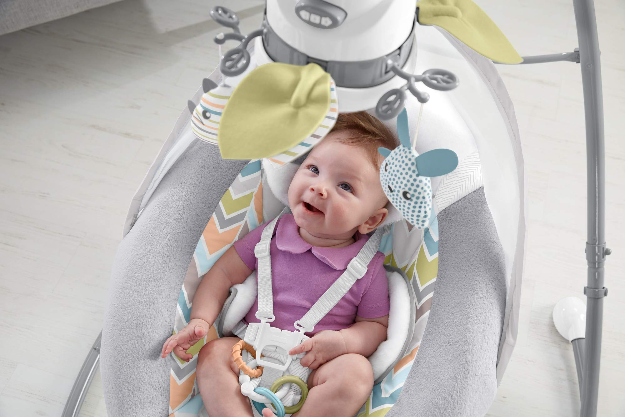 Fisher-Price Sweet Snugapuppy Dreams Cradle 'n Swing by Fisher-Price (Image #12)