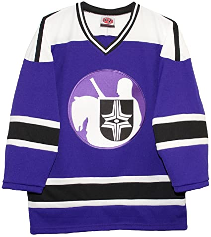meet d9ba2 0494c Amazon.com : K-1 Sportswear Cleveland Crusaders Road Purple ...