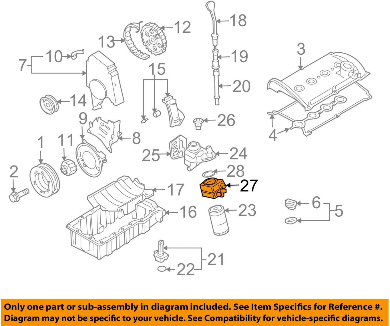 Amazon.com: 028-117-021-L Volkswagen 1.8T and 2.0 Oil Cooler: AutomotiveAmazon.com