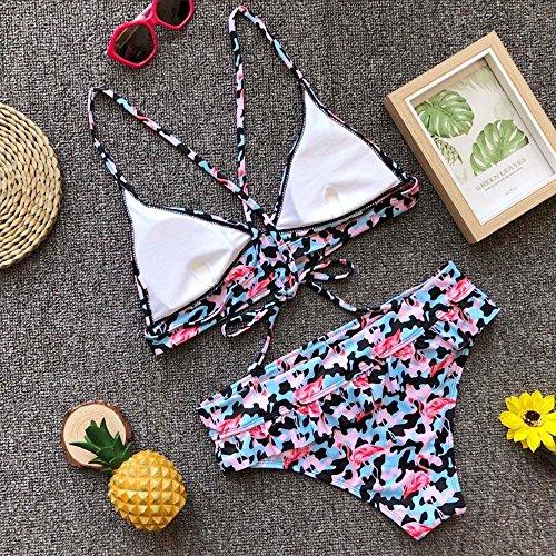 Push Set La Imbottito Vendita Biquini Wanmei Da Per Floreale yzhuang Bikini Balneazione Sexy up Calda Costume A Bagno Beachwear fSgw51Aq