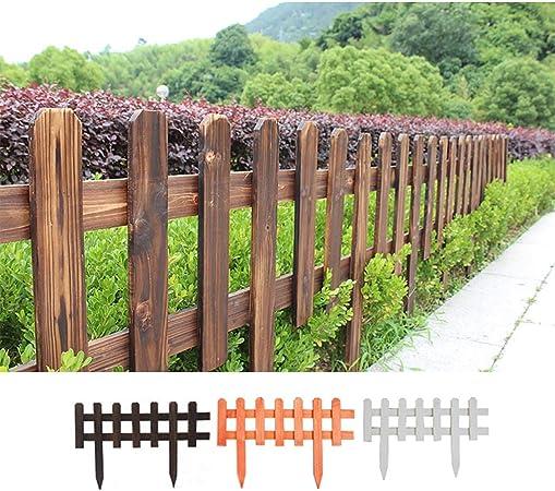 4 Paquetes de Valla de Madera Espesor de 1 cm Jardín césped de inserción/ jardín protección de Aislamiento de Borde, decoración (Color : A, Size : 60x40cm): Amazon.es: Hogar