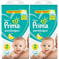 PRİMA AYLIK FIRSAT PK 2 Lİ SET NO:2 (4-8KG) 180 ADET MİNİ (2PK*90)