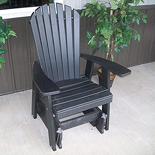 A L Furniture Poly Adirondack Gliding Chair - the best living room chair for the money