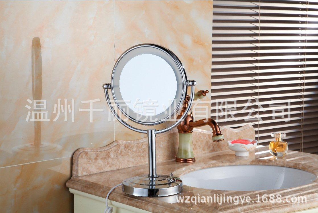 Desktop LED mirror desk-top LED vanity mirror bathroom mirror mirror 8-inch