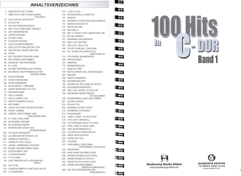 100 Hits en C de DuraSec banda 1 – Mejores Evergreens, Schlager ...