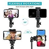 Selfie Stick Tripod, UBeesize 51 inch Extendable