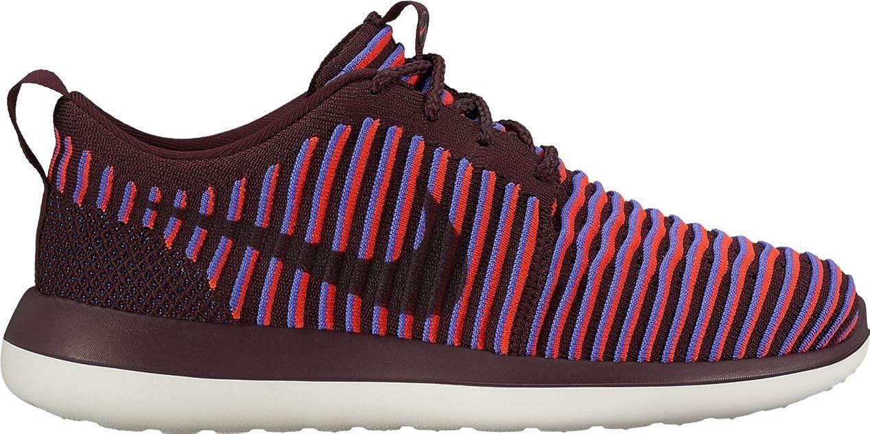 online store 48e34 ba921 Nike Womens Roshe Two Flyknit (Deep Burgundy/Deep Burgundy ...