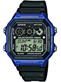 Casio Collection - Montre Homme Digital avec Bracelet en Résine - AE-1300WH