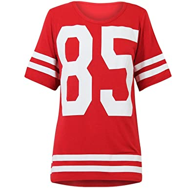 ladies american football jersey
