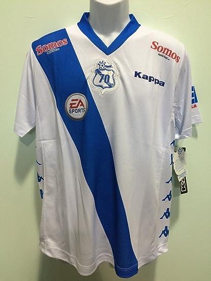 puebla white jersey kappa seleccion mexicana chivas america pumas cruz azul  (Small) f80ff912a4768