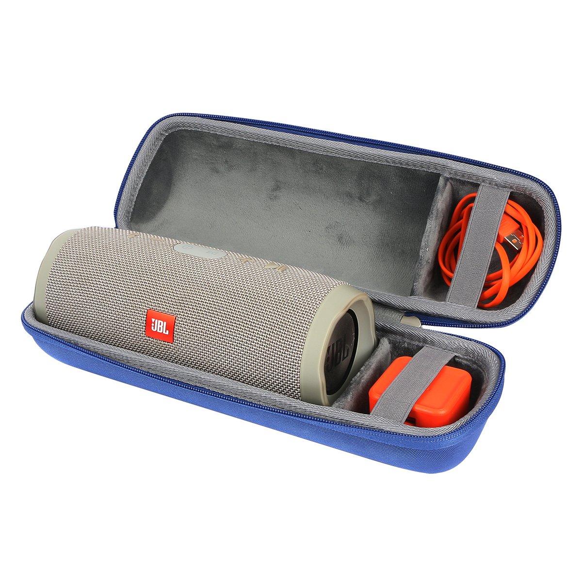 Co2Crea JBL CHARGE3 Bluetooth スピーカー用ハードケース ブルー  ブルー B072297D9K