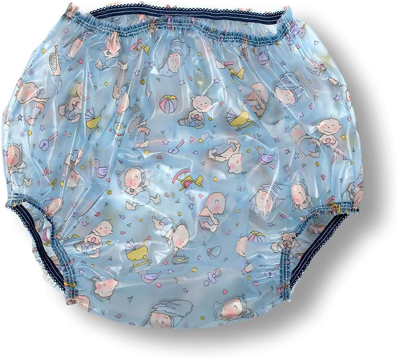 2 Pack White Butterfly Plastic Pants Rearz
