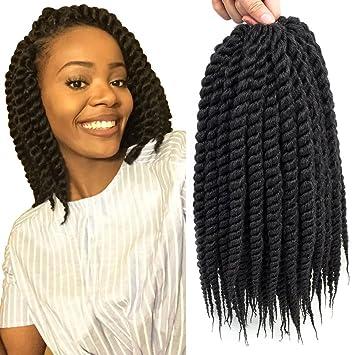 Amazoncom Dingxiu 6 Packs12 Inch Havana Mambo Twist Crochet