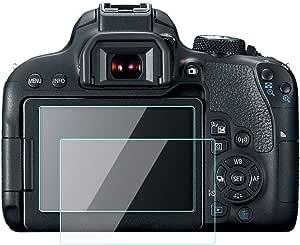 Komet Protector de Pantalla de Vidrio Compatible con Canon EOS ...