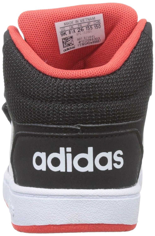 brand new 02c0b a7037 adidas Hoops Mid 2.0 I, Scarpe da Ginnastica Basse Bimbo Amazon.it Scarpe  e borse