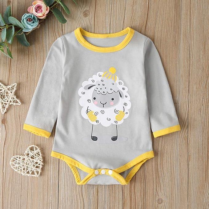 Miss Fortan M/ädchen Strampler Overallt Outfit,3D Kawaii Cartoon Fuchs Baby Body Spielanzug M/ädchen Jungen Jumpsuit