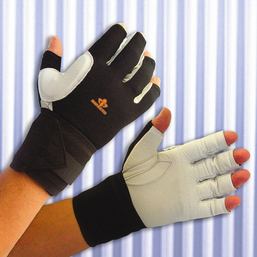 Impacto Ergonomic Anti-Impact Glove with Wrist Support - X-large - Right
